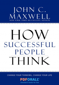 How Successful People Think in PDF 2019