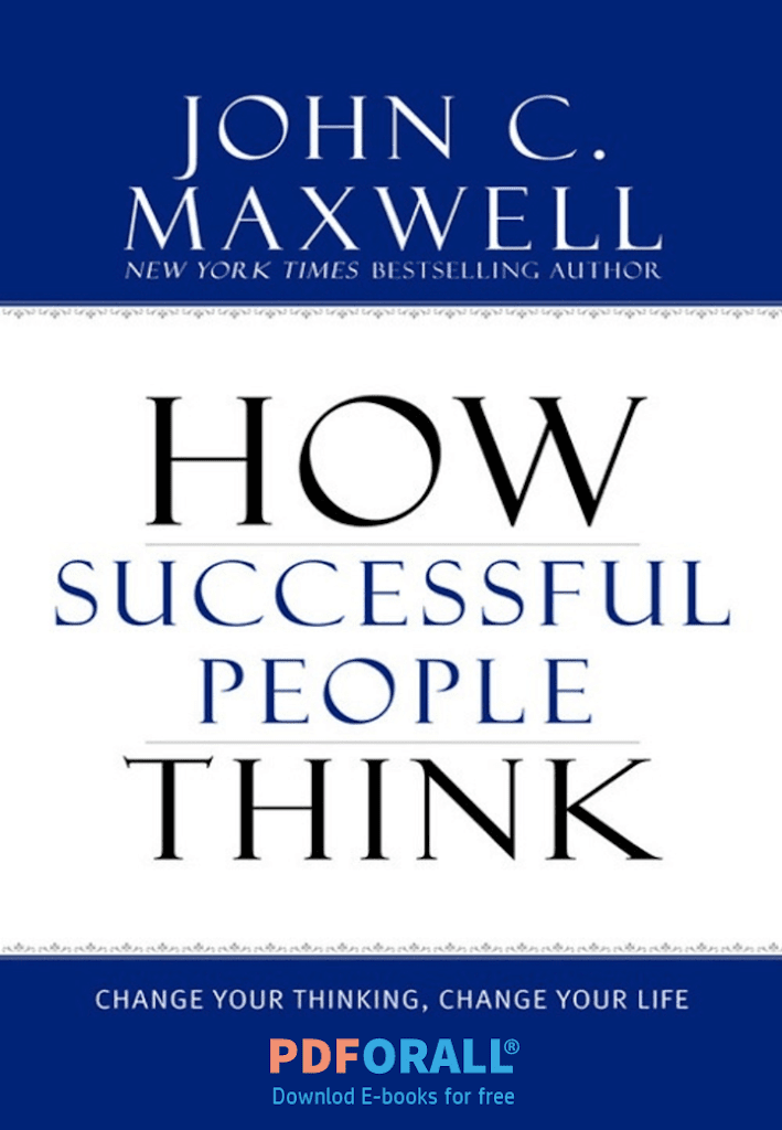 ow Successful People Think book PDF