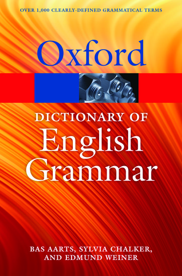 The oxford dictionary of english grammar oxford