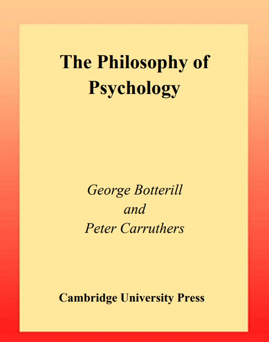 Download The Philosophy of Psychology pdf free