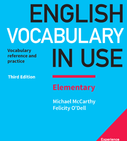 English Vocabulary in Use Elementary Book pdf